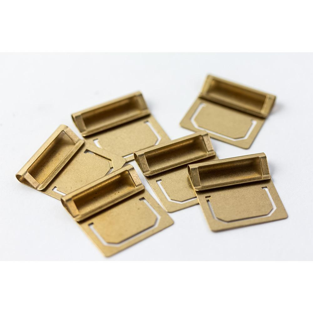 Traveler's Company Brass Index Clips (6 kpl) - Image 3