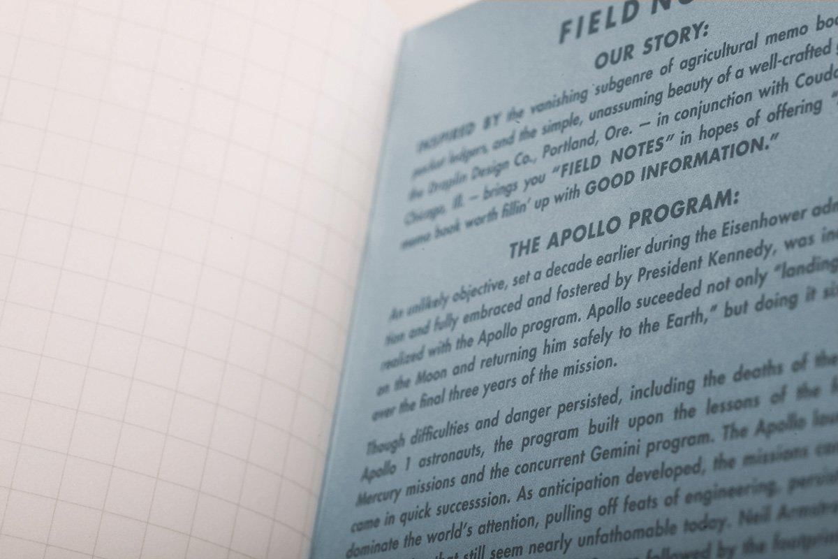 Field Notes Three Missions - Graph