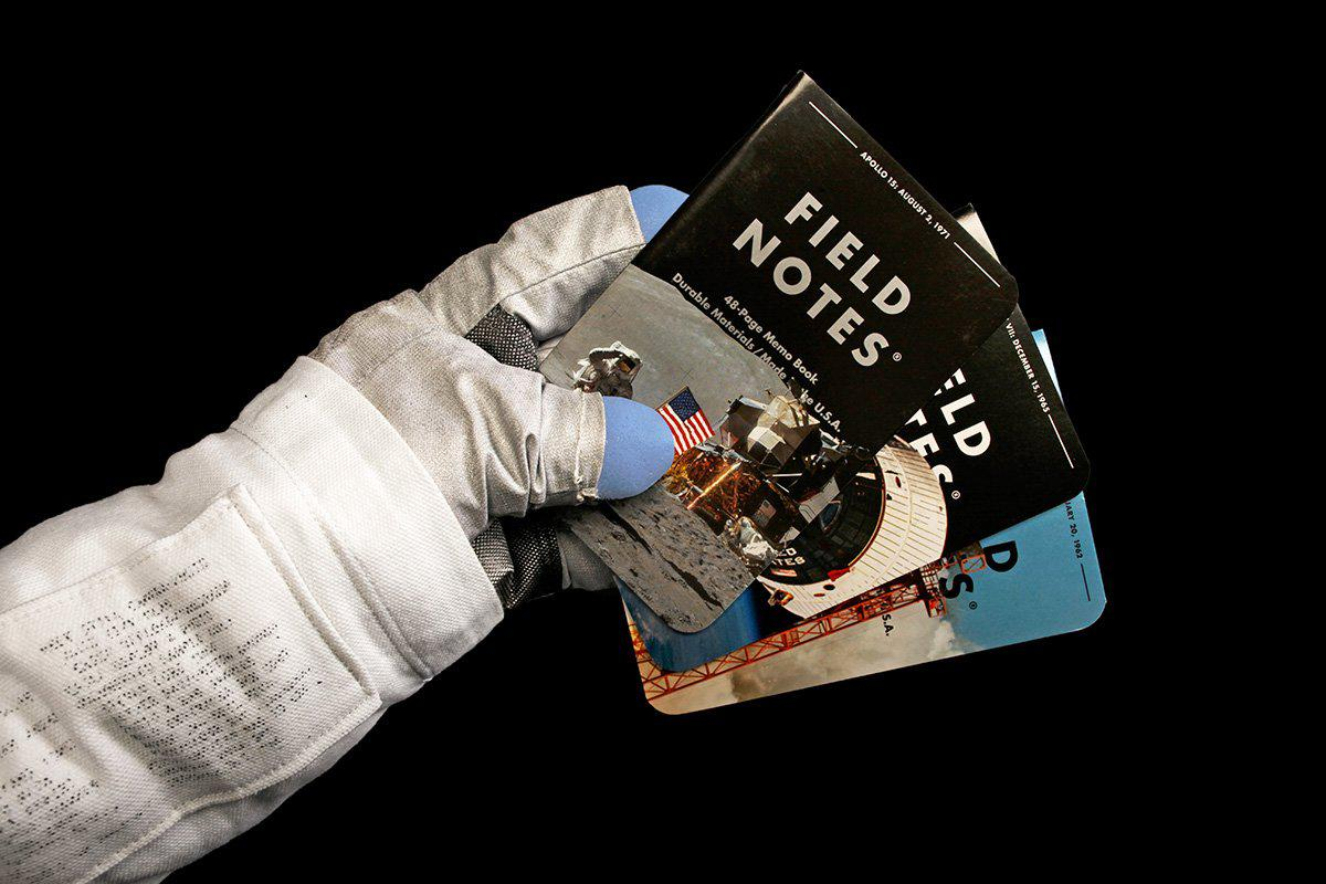 Field Notes Three Missions - Astronaut