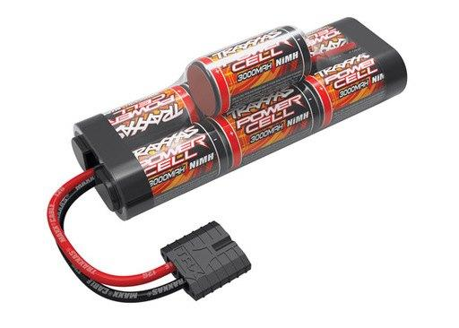 Traxxas - Battery, Power Cell, 3000mAh (NiMH, 7-C hump, 8.4V)