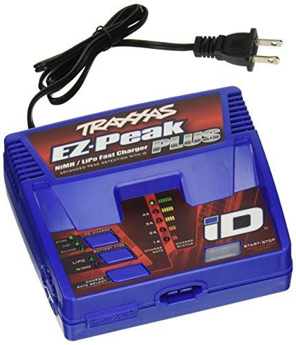 Traxxas - Charger, EZ-Peak® Plus, 4 amp, NiMH/LiPo with iD® Auto Battery Identification