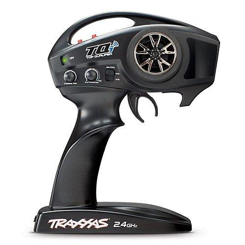 Traxxas - TQi 2.4 GHz High Output radio system, 4-channel with Traxxas Link™ Wireless Module, TSM (4-ch transmitter, 5-ch micro receiver)