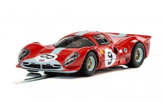 Scalextric- 412P (Red) No.9, Brands Hatch 1967