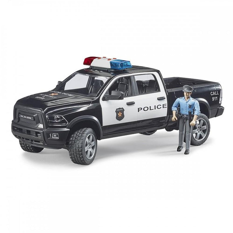 Bruder RAM 2500 Police with Policeman, L&S Module