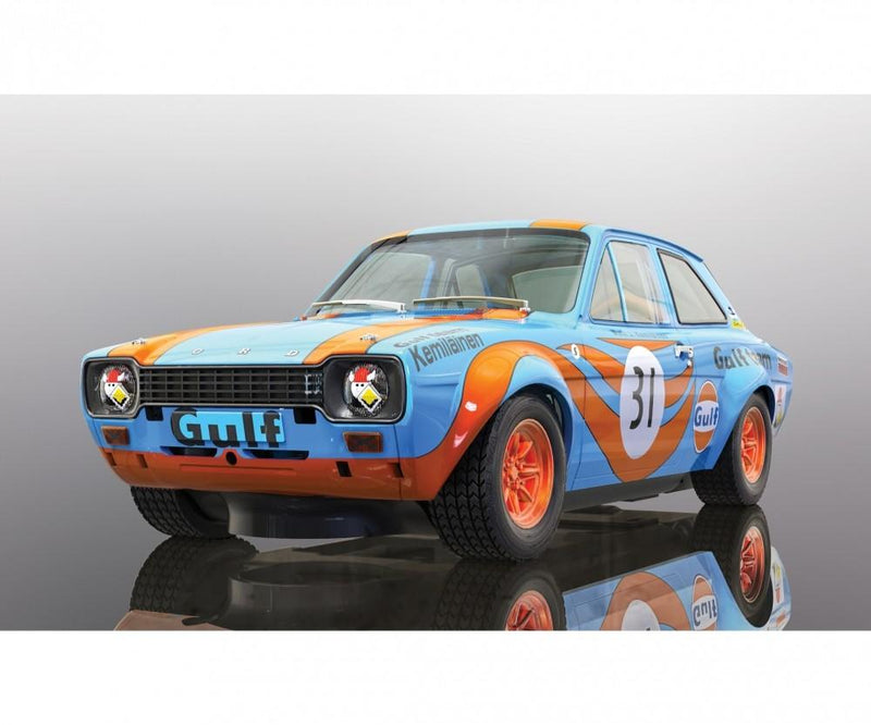 Scalextric- Ford Escort Mk1 - Gulf Edition