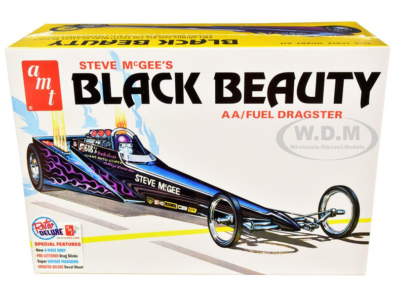 1/25 Steve McGee Black Beauty Wedge Dragster - 849398042441