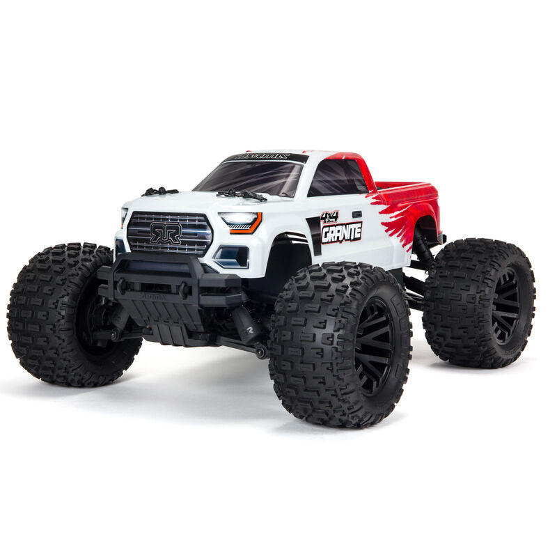 GRANITE 4X4 MEGA Brushed 1/10th 4wd MT - Red