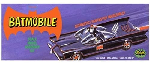 1/32 Polar Lights - Batmobile Classic Scale Model Assembly Kit