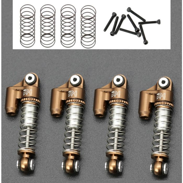 Powerhobby Axial SCX24 C10 JLU Jeep Betty Aluminum Shocks Copper SKIP TO THE END OF THE IMAGES GALLERY