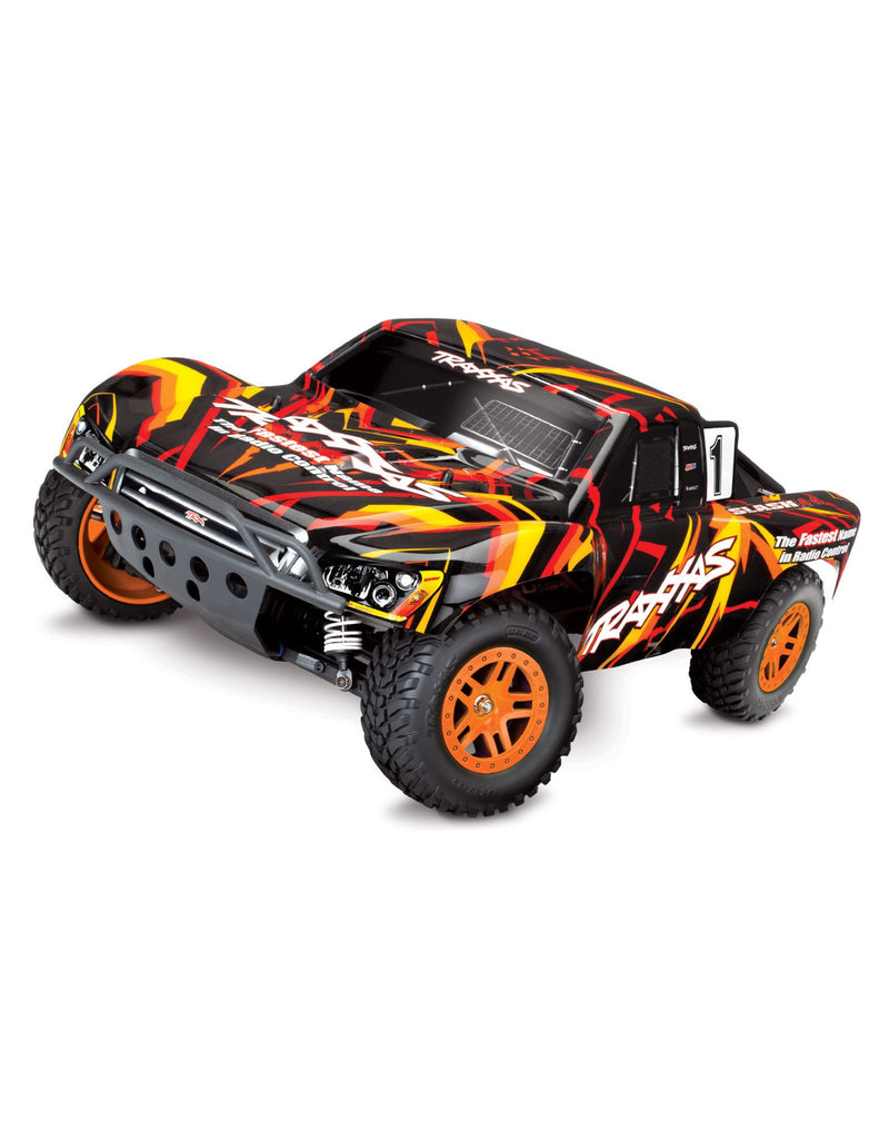 Traxxas 1/10 Slash 4x4 Brushed Short Course Truck - Orange
