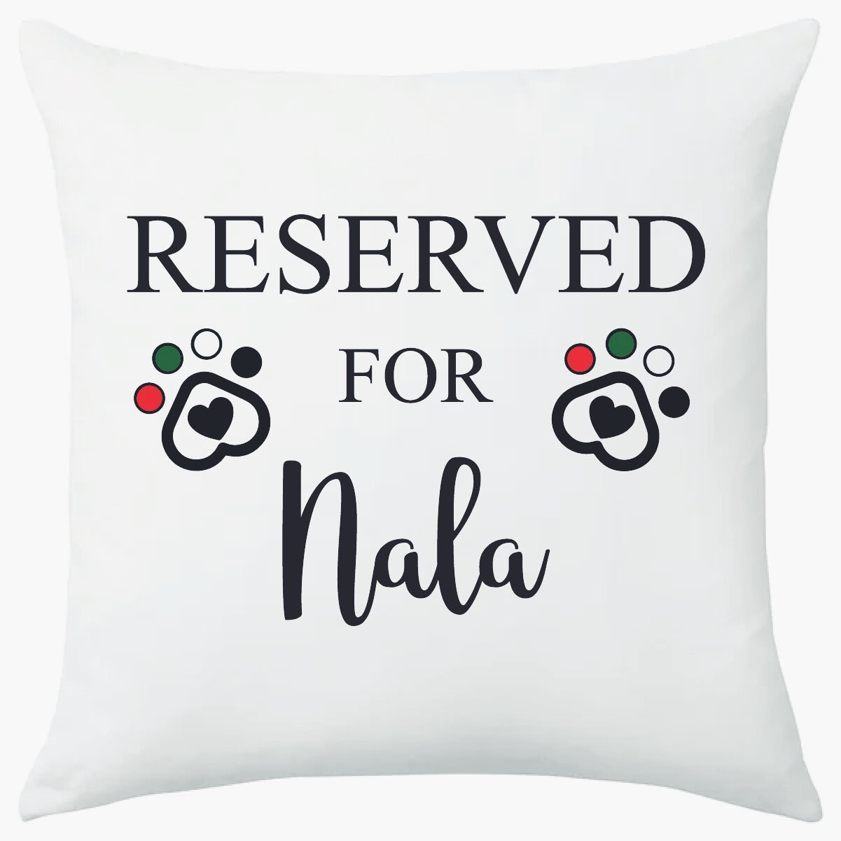 Reserved for...