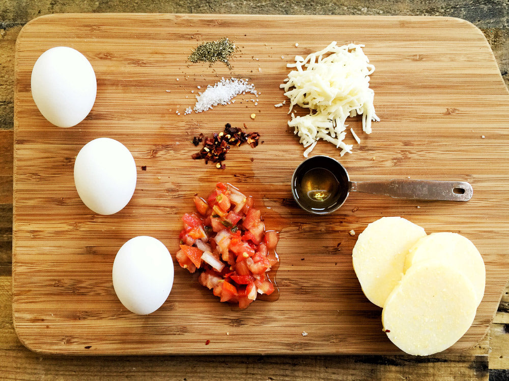 Myles Recipe: Deconstructed Huevos Rancheros