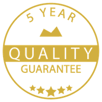 MYLES 5 YEAR QUALITY GUARANTEE
