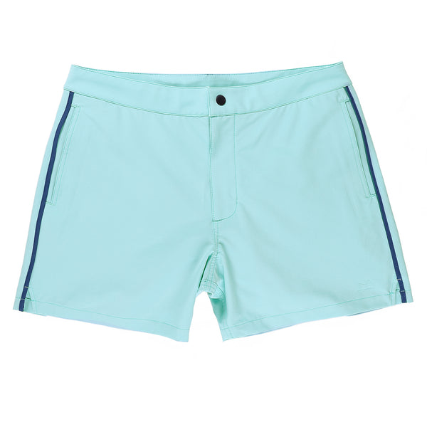 Sutro Swim Trunk in Waterfall - Myles Apparel