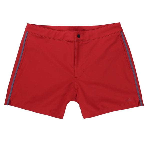 Sutro Swim Trunk in Brick - Myles Apparel
