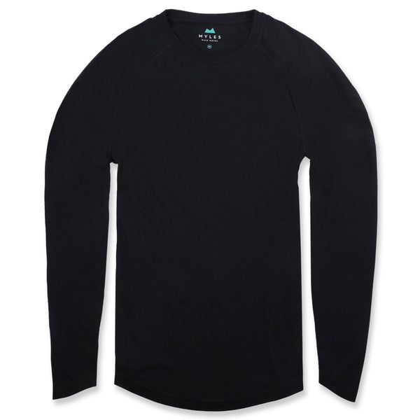 Momentum Long Sleeve in Charcoal