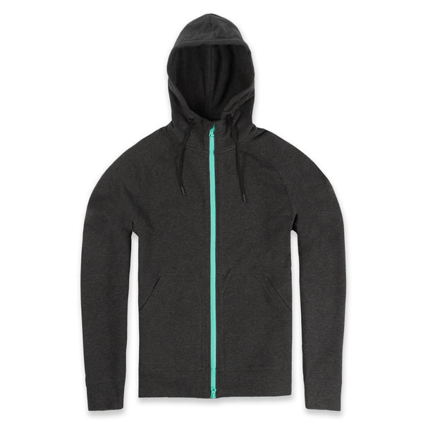 Elements Hoodie in Granite- Front
