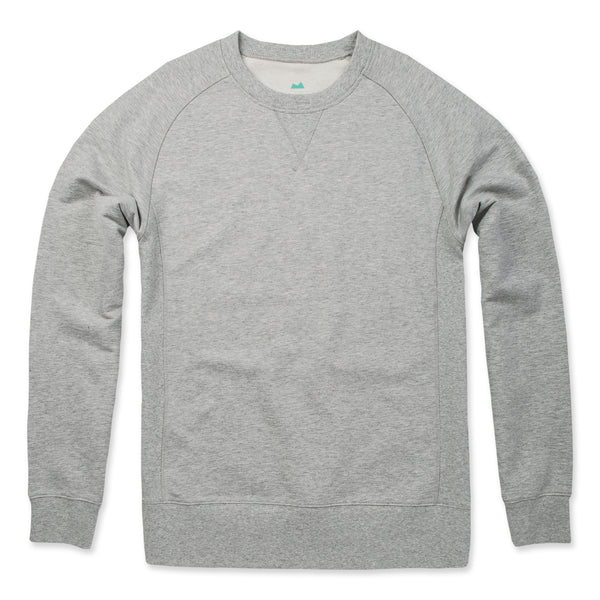 Elements Crew Sweatshirt in Heather Gray- Front