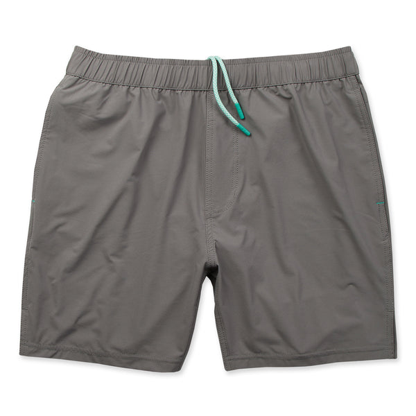 Momentum Short 2.0 with Liner in Fog- Front