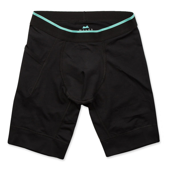Momentum Compression Short in Coal - Myles Apparel
