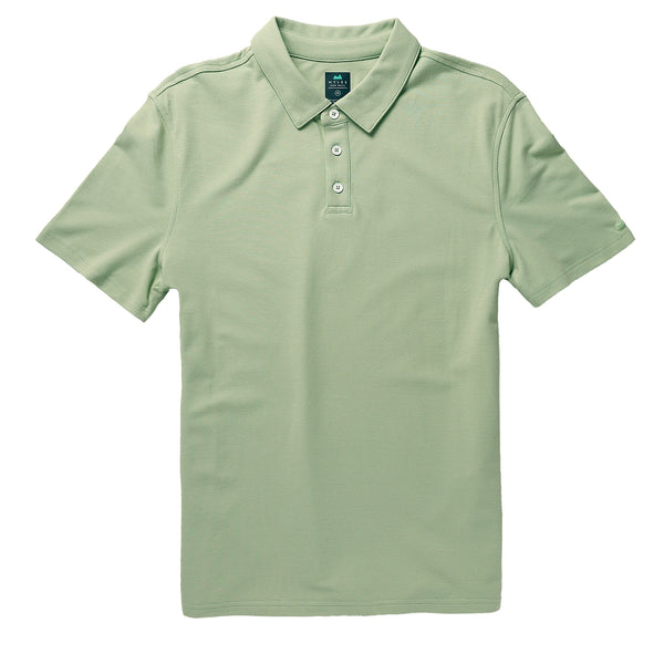 Tour Polo in Mint - Myles Apparel