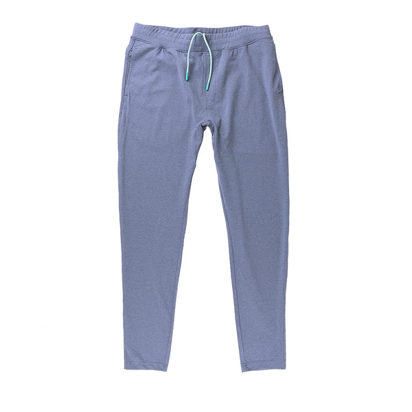 Momentum Pant in Heather Navy - Myles Apparel