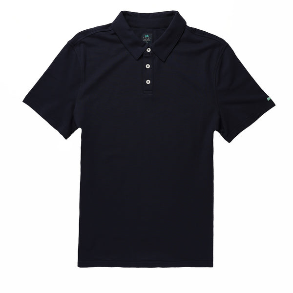 Tour Polo in Deep Sea - Myles Apparel