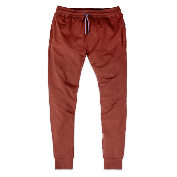 Storm Cotton Jogger in Crimson - Myles Apparel