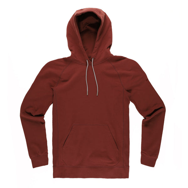 Everyday Pullover Hoodie in Crimson