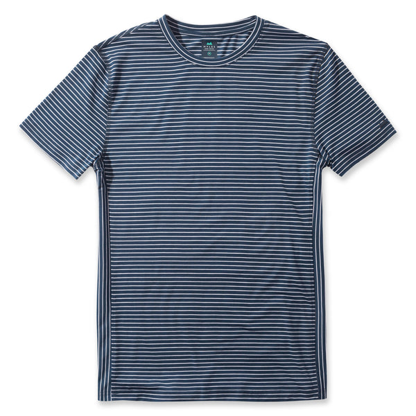 Everyday Tee in Striped River- Front