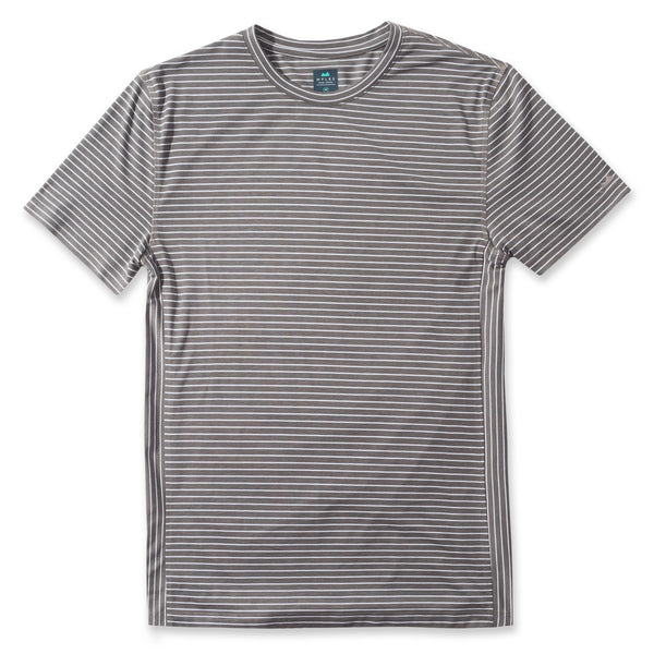 Everyday Tee in Striped Slate- Front
