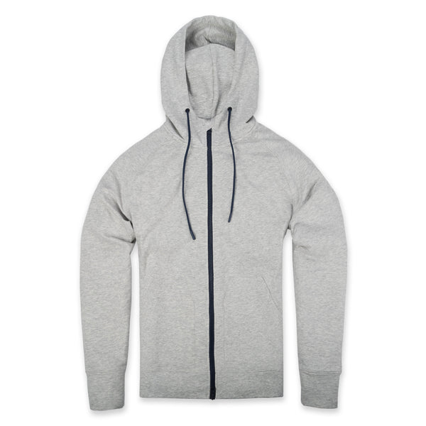 Elements Hoodie in Heather Gray- Front