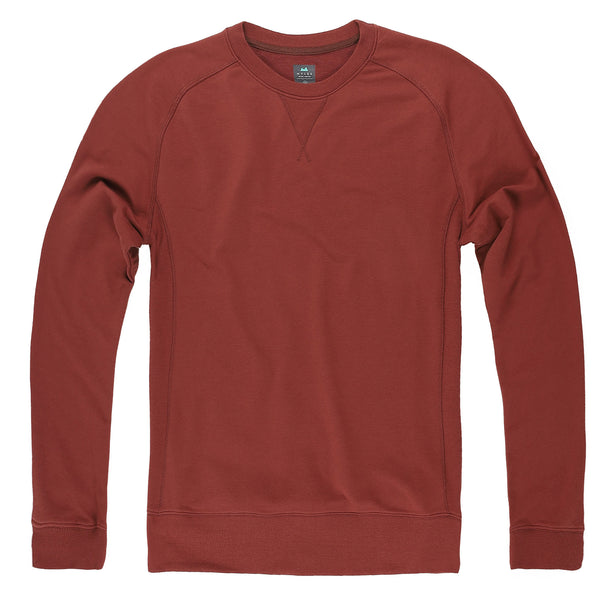 Everyday Crew Sweatshirt in Crimson