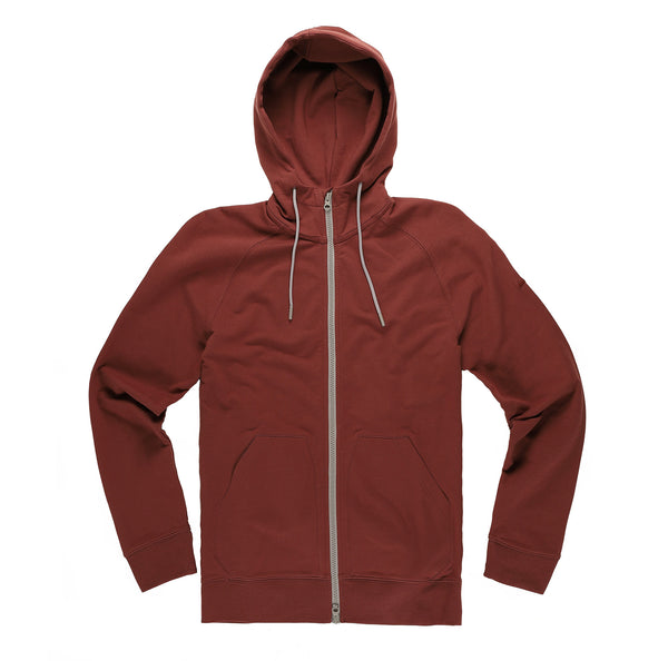Everyday Hoodie in Crimson