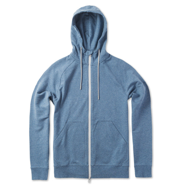 Everyday Hoodie in Heather River (Original Fabric) - Myles Apparel