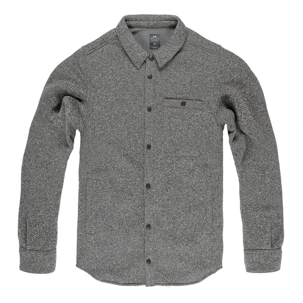 Farallon Fleece Jacket in Heather Gray - Myles Apparel