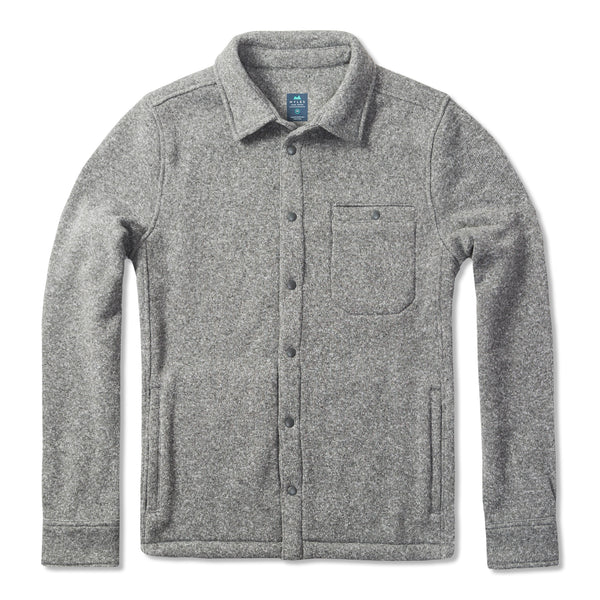 Farallon Fleece Jacket in Heather Gray
