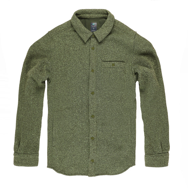 Farallon Fleece Jacket in Pine - Myles Apparel
