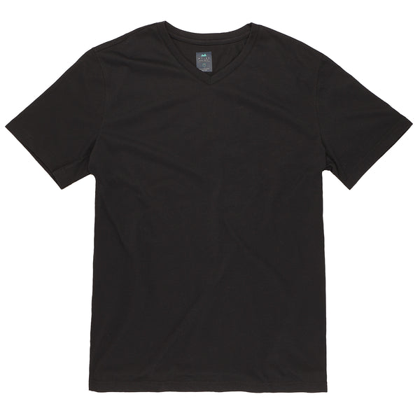 Everyday Tee with V-Neck in Coal (Original Fit)