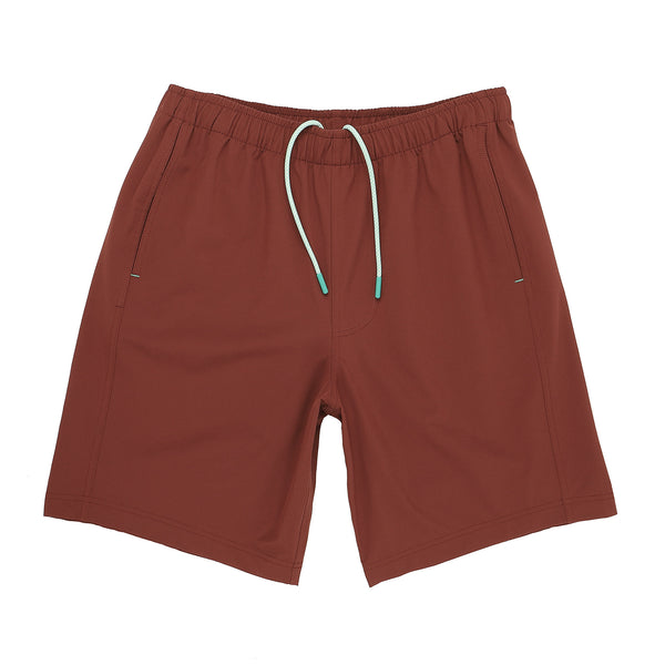 Everyday Short in Crimson