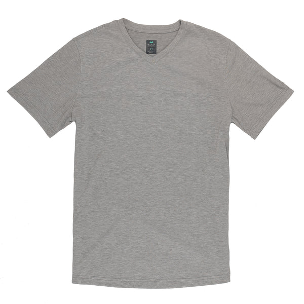Everyday Tee with V-Neck in Heather Gray (Original Fit)