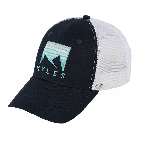 Trucker Hat in Dark Navy