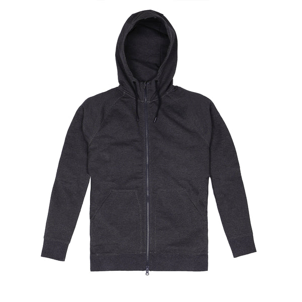 Storm Cotton Hoodie in Heather Coal - Myles Apparel