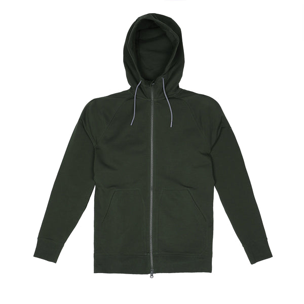 Storm Cotton Hoodie in Pine - Myles Apparel