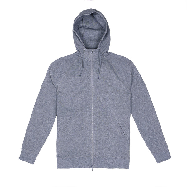 Storm Cotton Hoodie in Heather Gray - Myles Apparel