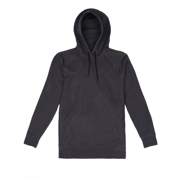 Storm Cotton Pullover Hoodie in Heather Coal - Myles Apparel