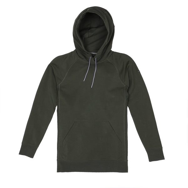 Storm Cotton Pullover Hoodie in Pine - Myles Apparel