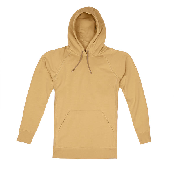 Storm Cotton Pullover Hoodie in Caramelo - Myles Apparel