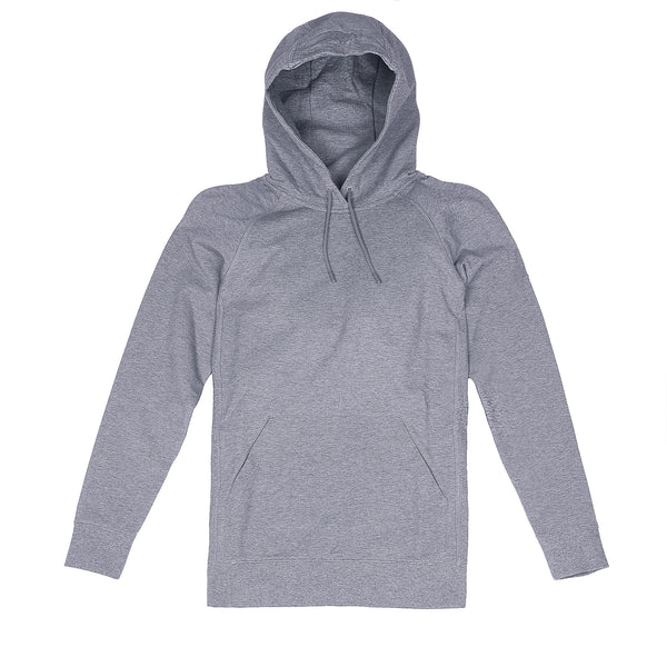 Storm Cotton Pullover Hoodie in Heather Gray - Myles Apparel