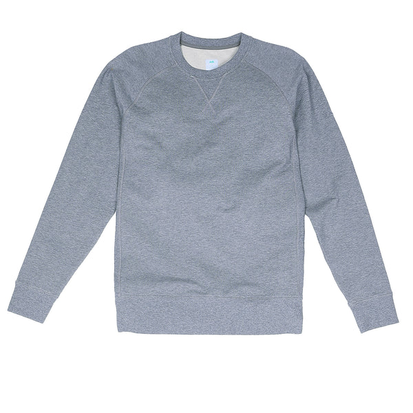 Storm Cotton Crew Sweatshirt in Heather Gray - Myles Apparel